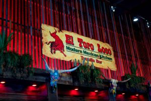 El Toro Loco Bar Sign